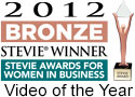 Bronze Stevie Award video of the year