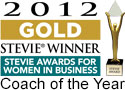 Gold Stevie Award Coach of the Year
