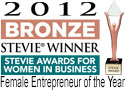 Bronze Stevie Award entrepreneur of the year
