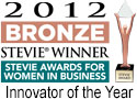 Bronze Stevie Award Innovator of the year