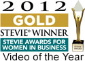 Gold Stevie Award Video of the Year
